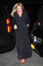 KATE HUDSON Leaves Her Hotel in New York 11/18/2015