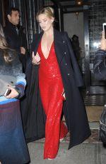 KATE HUDSON Leaves Her Hotel in New York 11/18/2015