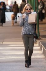 KATE HUDSON Out and About in New York 11/17/2015