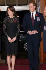KATE MIDDLETON at Annual Festival of Remembrance in London 11/07/2015