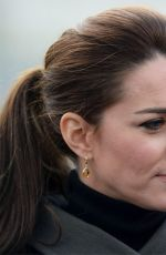 KATE MIDDLETON Promotes Mental Well Being of Young People in North Wales 11/19/2015