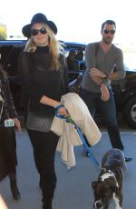KATE UPTON Arrives at Los Angeles International Airport 11/23/2015
