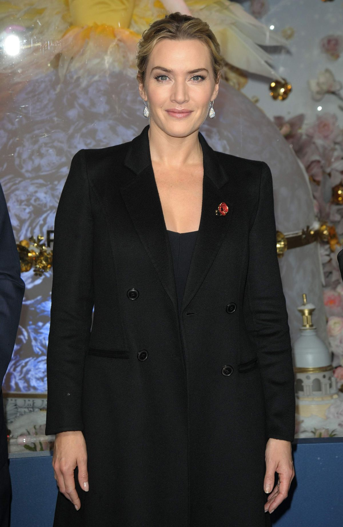 KATE WINSLET at Opening The Christmas Shopping Window 11/06/2015