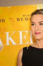 KATE WINSLET at The Dressmaker Screening in London 11/11/2015