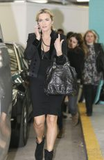 KATE WINSLET Leaves ITV Studios in London 11/11/2015