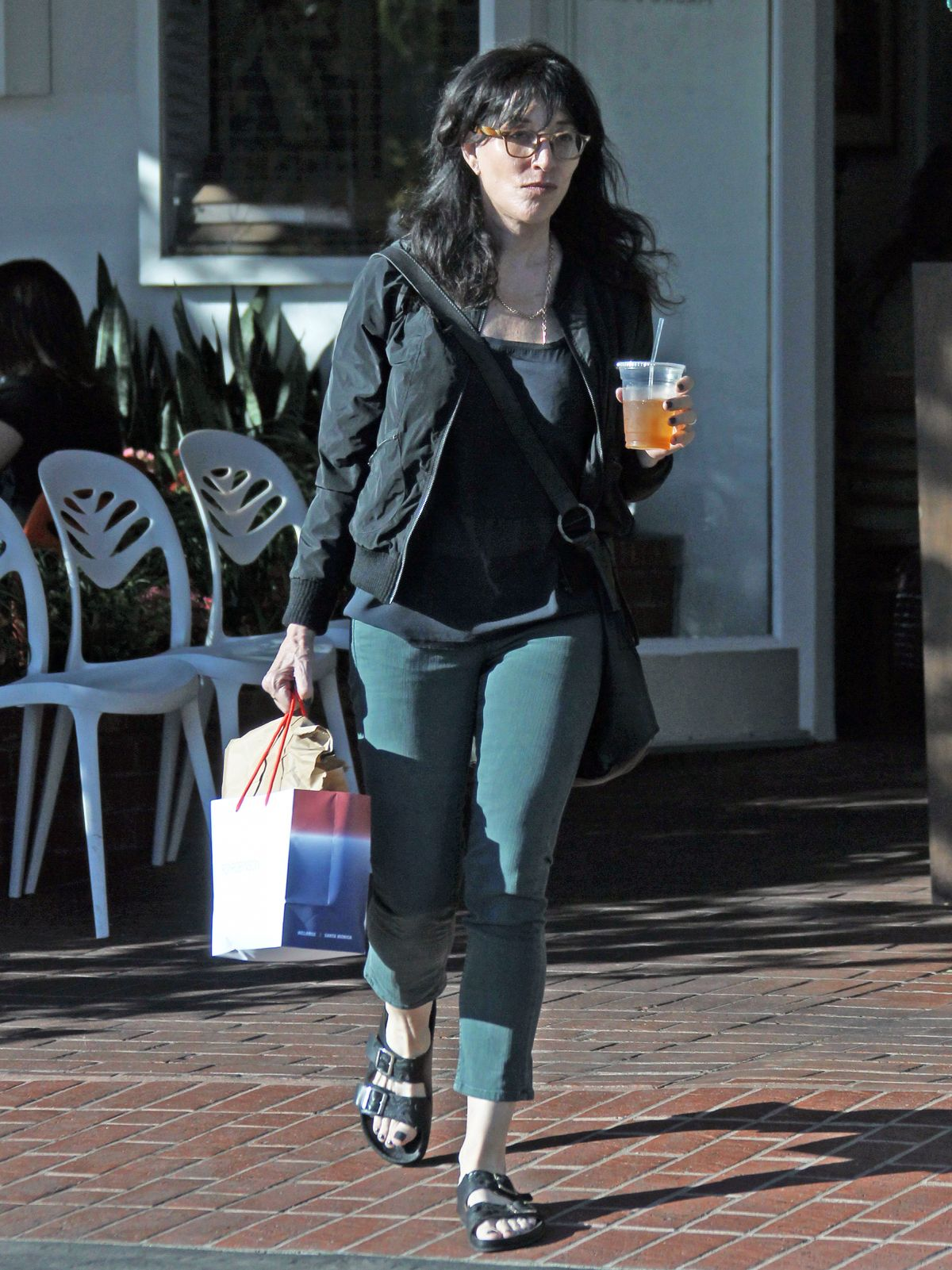 KATEY SAGAL Shopping at Fred Segal in West Hollywood 11/21/2015