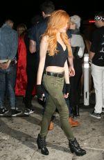 KATHERINE MCNAMARA at Just Jared Halloween Party in Hollywood 10/31/2015