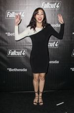 KATIE FINDLAY at Fallout 4 Video Game Launch Event in Los Angeles 11/05/2015
