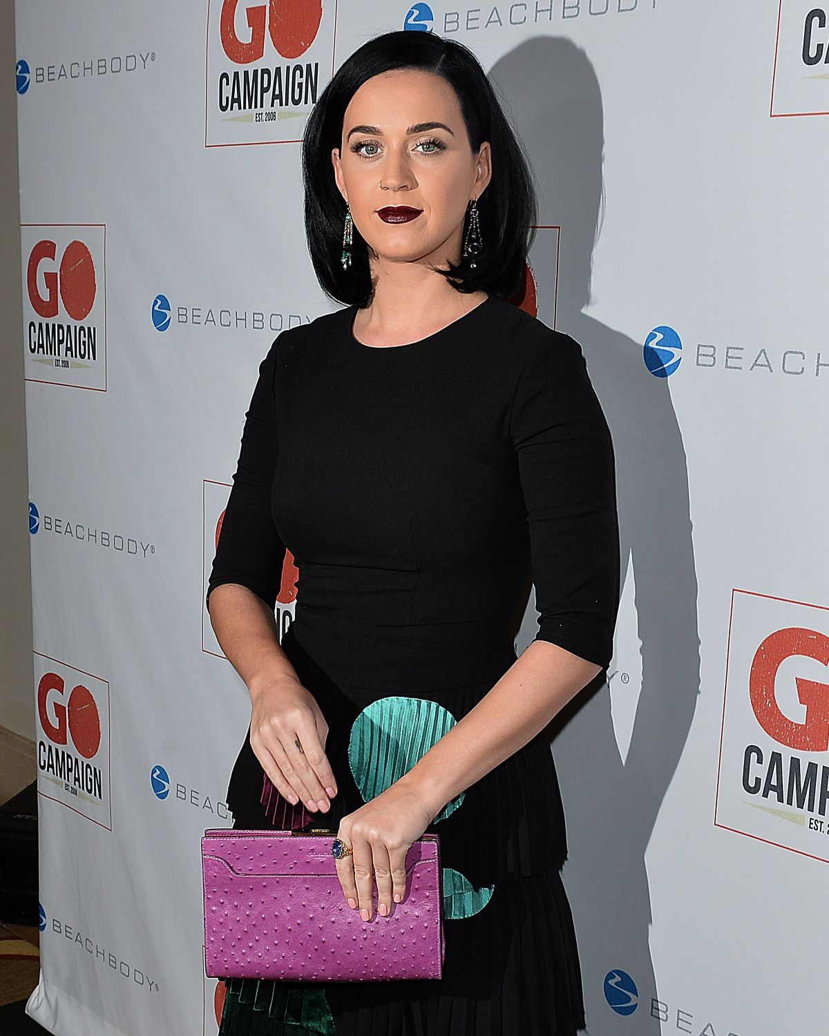 KATY PERRY at 8th Annual Go Campaign Gala in Beverly Hills 11/12/2015