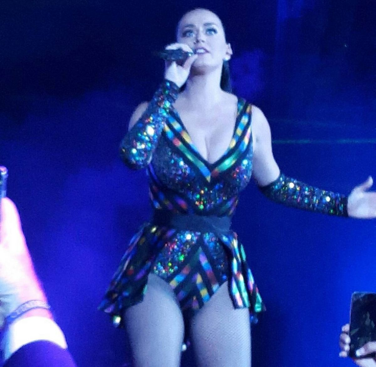 KATY PERRY Performs at a Private Show in Chicago 11/07/2015