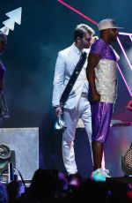 KATY PERRY Performs at Dubai Airport