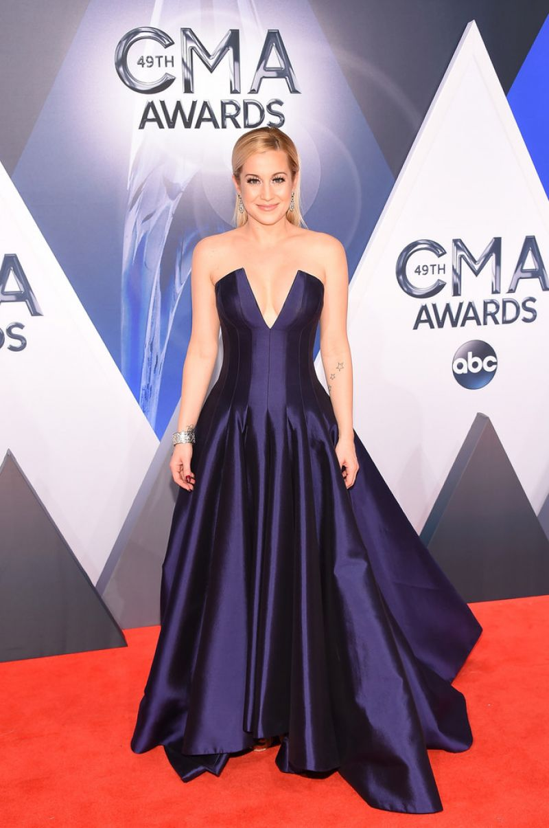 KELLIE PICKLER at 49th Annual CMA Awards in Nashville 11/04/2015