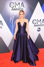 KELLIE PICKLER at 49th Annual CMA Awards in Nashville 11/04/2015