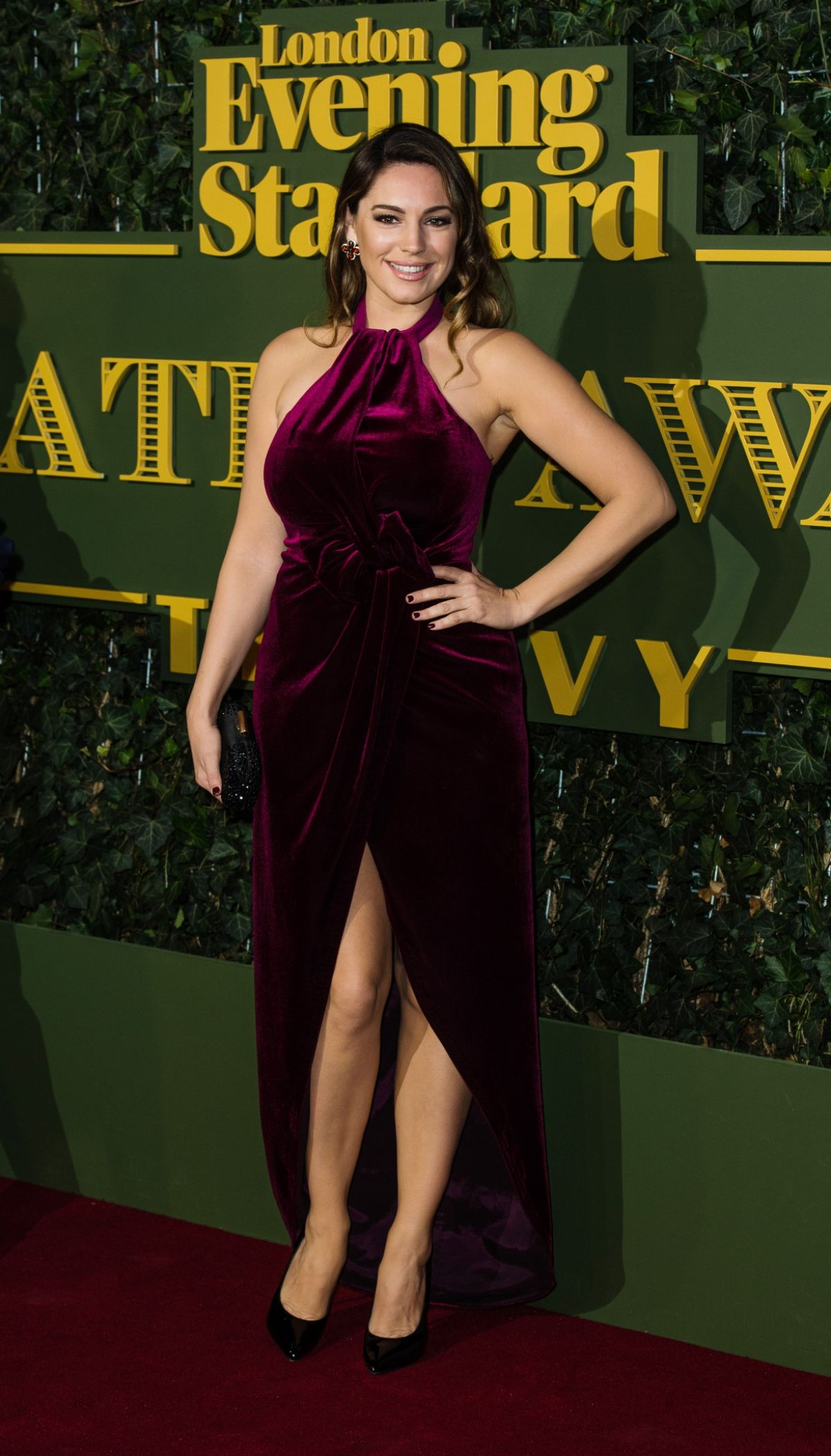 KELLY BROOK at Evening Standard Theatre Awards in London 11/22/2015