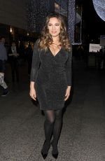 KELLY BROOK at Ping Pong Restaurant Launch & Christmas Party in London 11/11/2015