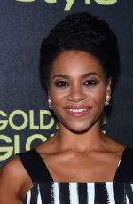 KELLY MCCREARY at hfpa and Instyle Celebrate 2016 Golden Globe Award Season in West Hollywood 11/17/2015