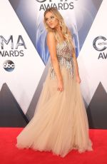 KELSEA BALLERINI at 49th Annual CMA Awards in Nashville 11/04/2015