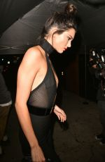 KEMDALL JENNER Celebrates Her 20th Birthday at The Nice Guy in West Hollywood 11/03/2015