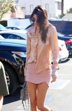 KENDALL JENNER and HAILEY BALDWIN Arrives at Fred Segal in West Hollywood 11/21/2015