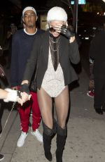 KENDALL JENNER at a Halloween Party at Boosty Bellows in West Hollywood 10/31/2015