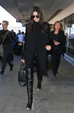 KENDALL JENNER at Los Angeles International Airport 11/14/2015
