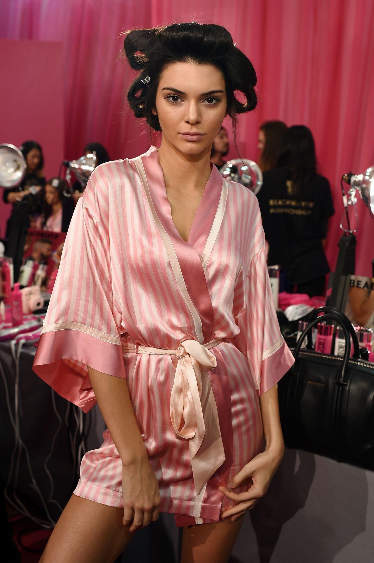 Victoria Secret Silk Robe Fashion Show