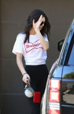 KENDALL JENNER Out and About in Beverly Hills 11/18/2015