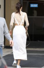KENDALL JENNER Out and About in Los Angeles 11/04/2015