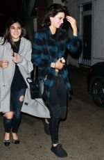 KENDALL JENNER Out for Dinner in Beverly Hills 11/24/2015