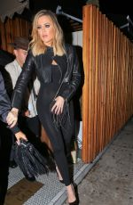 KHLOE KARDASHIAN Arrives Kendall Jenner's 20th Birthday Party at The Nice Guy in West Hollywood 11/03/2015