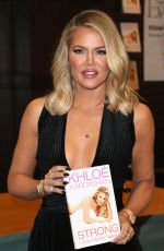KHLOE KARDASHIAN at Strong Looks Better Naked Book Signing in Los Angeles 11/09/2015