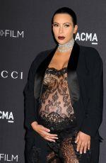 KIM KARDASHIAN at LACMA 2015 Art+Film Gala Honoring James Turrell and Alejandro G Inarritu in Los Angeles 11/07/2015