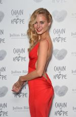 KIMBERLEY GARNER at Chain of Hope Annual Ball at Grosvenor Hotel in London 20/11/2015