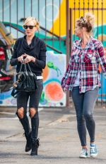 KIMBERLY STEWART Out and About in Los Angeles 11/25/5015