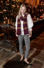 KIMBERLY WYATT at Hogwarts in the Snow Launch at Warner Bros. Studio Tour London in Watford 11/12/2015