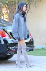 KOURTNEY KARDASHIAN Out and About in Sherman Oaks 10/30/2015