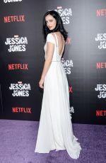 KRUSTEN RITTER at Jssica Jones Premiere in New York 11/17/2015