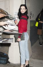 KRYSTEN RITTER at AOL Studios in New York 11/17/2015