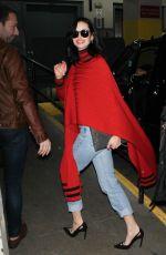 KRYSTEN RITTER Night Out in New York 11/16/2015