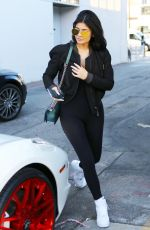 KYLIE JENNER Out and About in Los Angeles 11/06/2015