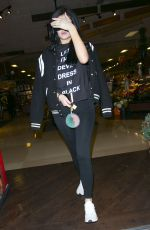 KYLIE JENNER Out and About in Los Angeles 11/21/2015