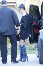 KYLIE JENNER Out and About in Woodland Hills 10/30/2015