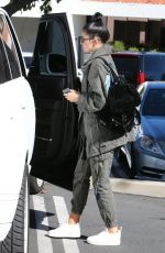 KYLIE JENNER Out for Breakfast in Calabasas 11/01/2015