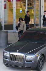 KYLIE JENNER Shopping New Rolls Royce 11/04/2015
