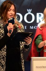 KYLIE MINOGUE at Oxford Street Christmas Lights Switch On Event at Pandora Store in London 11/01/2015