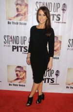 LACEY CHABERT at Stand Up for Pits Comedy Benefit in Hollywood 11/08/2015