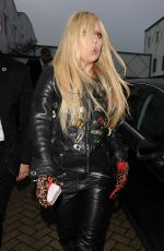 LADY GAGA Arrives at a Recording Studio in London 11/23/2015