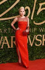 LADY GAGA at 2015 British Fashion Awards in London 11/23/2015