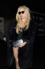 LADY GAGA at a Recording Studio in Kings Cross in London 11/25/2015