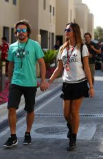 LARA ALVAREZ at F! Abu Dhabi Grand Prix 2015 at Yas Marina in Abu Dhabi
